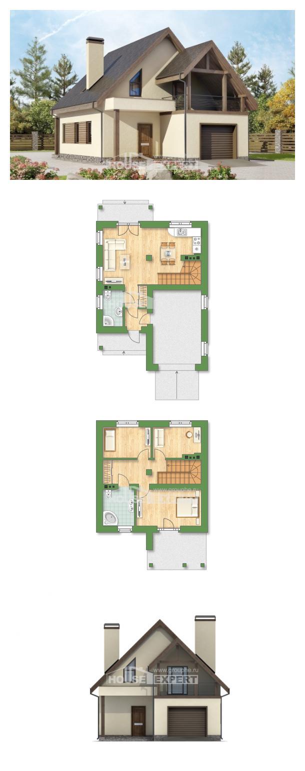 Projekt domu 120-005-L | House Expert