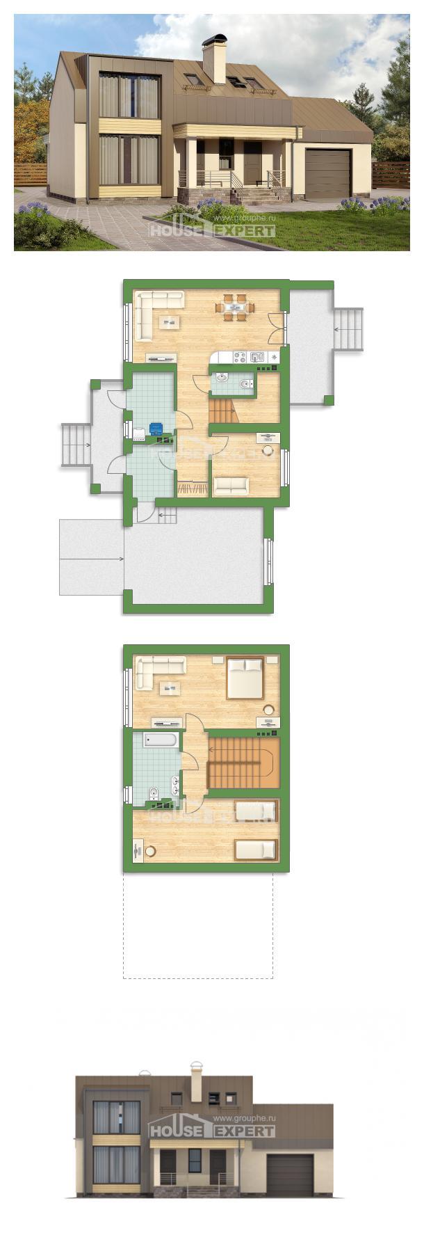 Projekt domu 150-015-L | House Expert