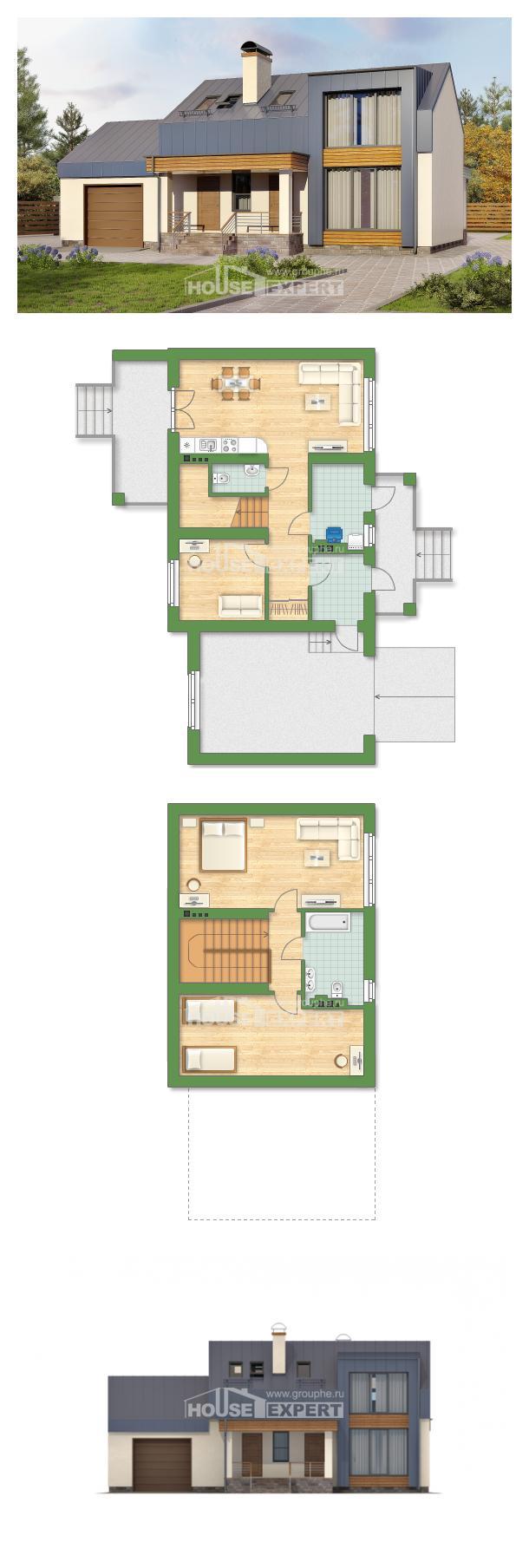 Projekt domu 150-015-R | House Expert