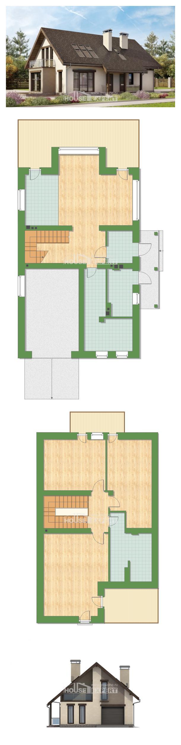 Projekt domu 185-005-L | House Expert