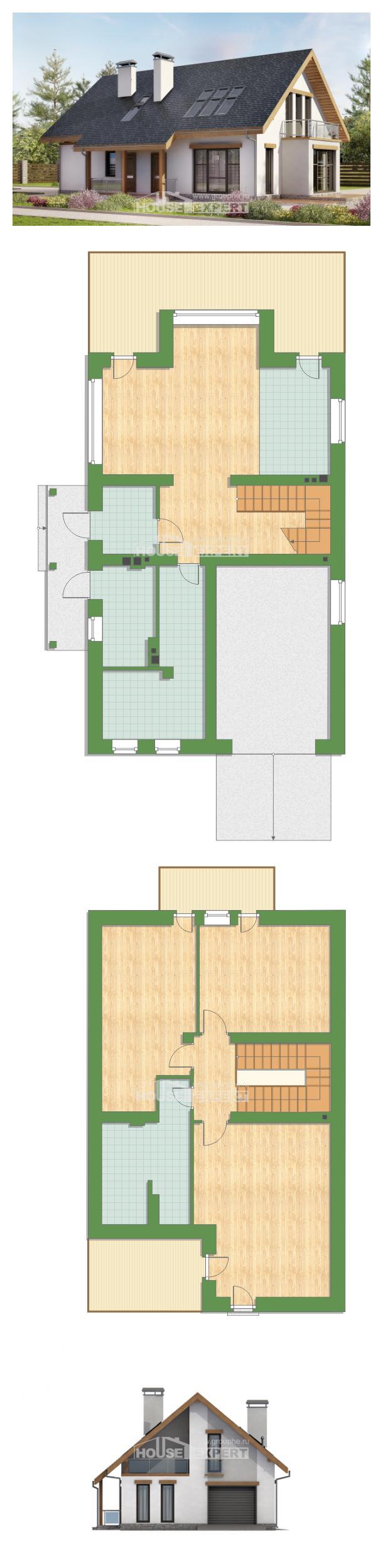 Projekt domu 185-005-R | House Expert