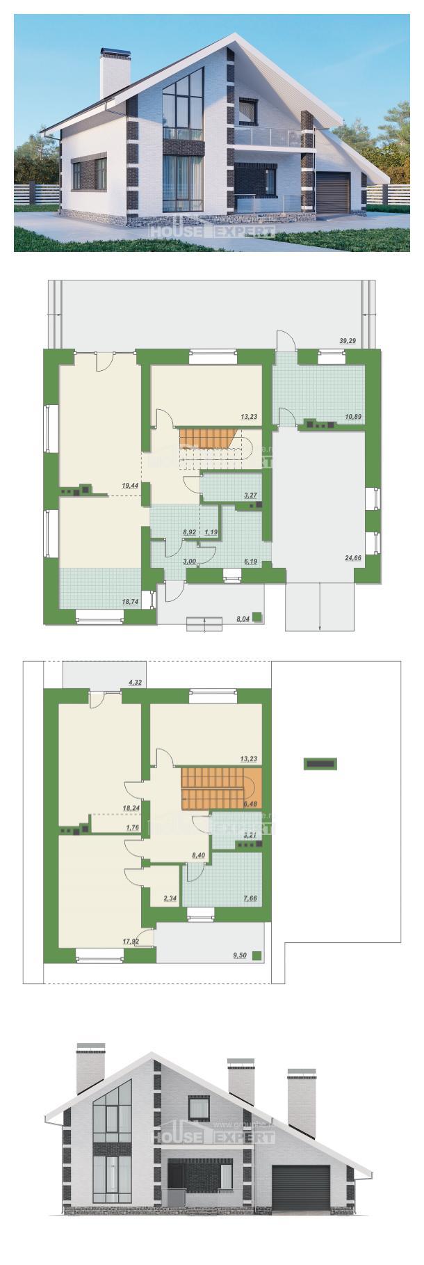 Проект на къща 190-008-R | House Expert