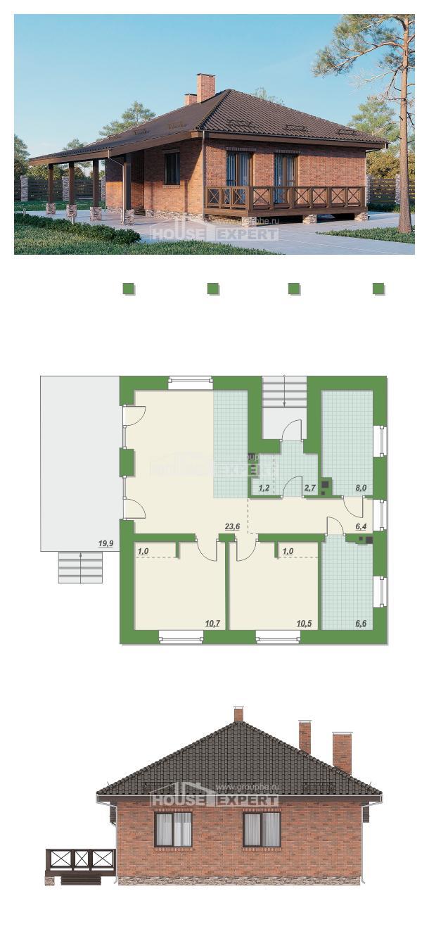 Проект на къща 070-006-L | House Expert