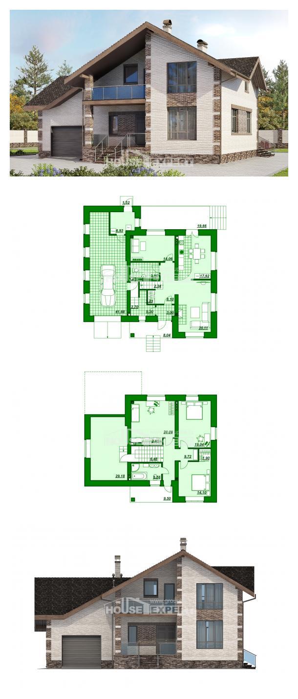 Проект дома 245-005-П   House Expert