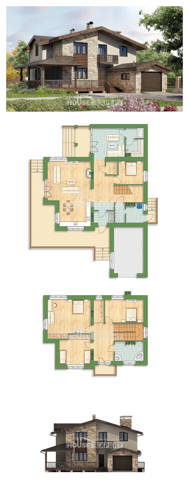 Projekt domu 220-001-L | House Expert