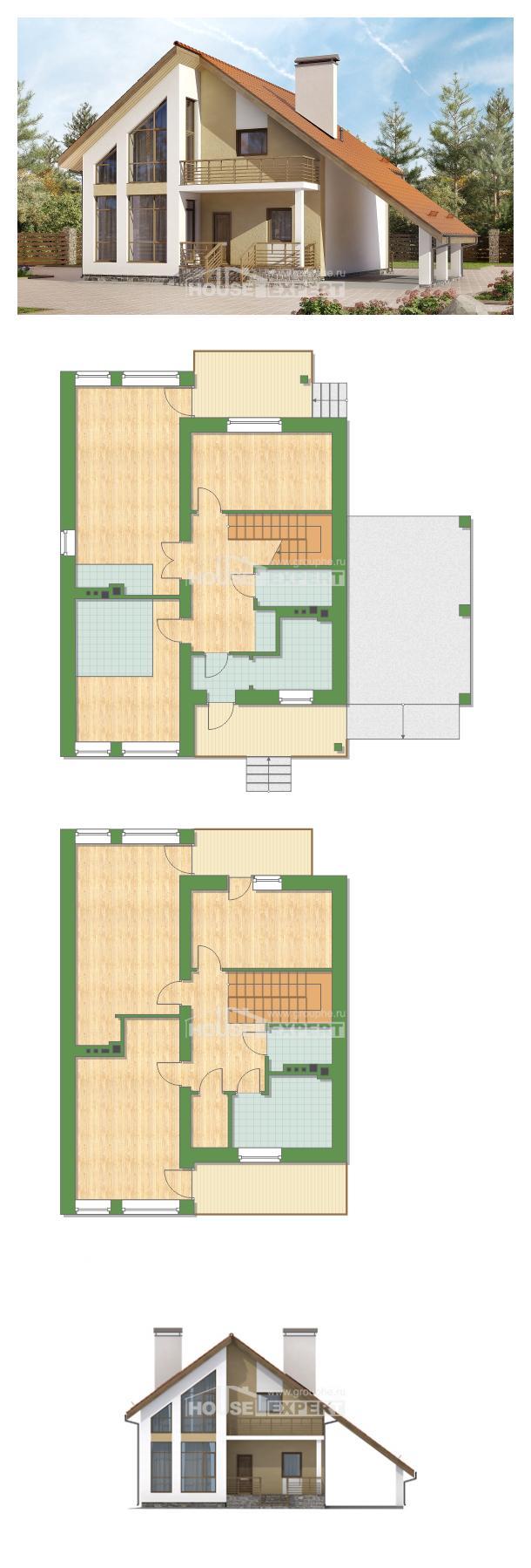 Projekt domu 170-009-R | House Expert