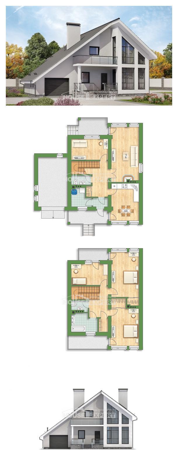Ev villa projesi 200-007-L | House Expert