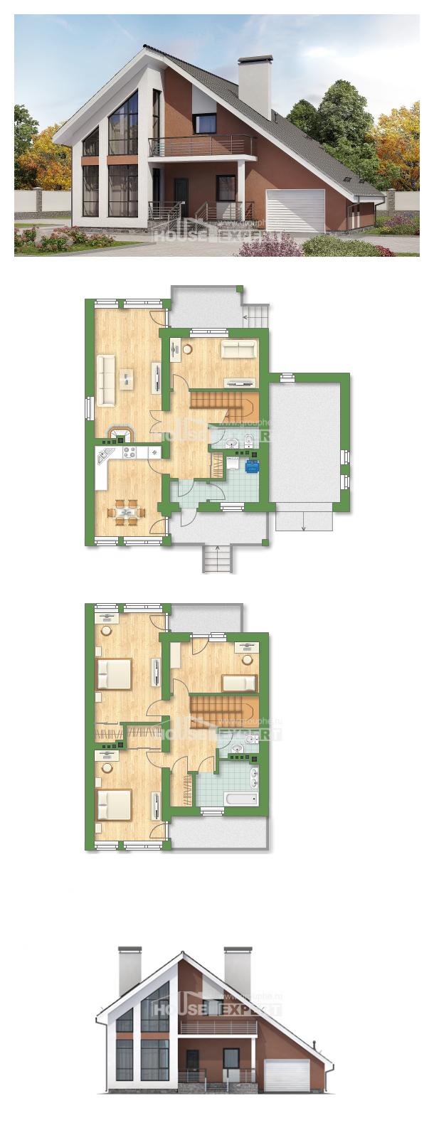 Проект на къща 200-007-R   House Expert