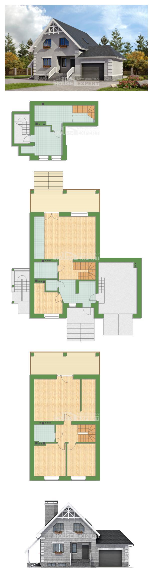Projekt domu 200-009-R   House Expert