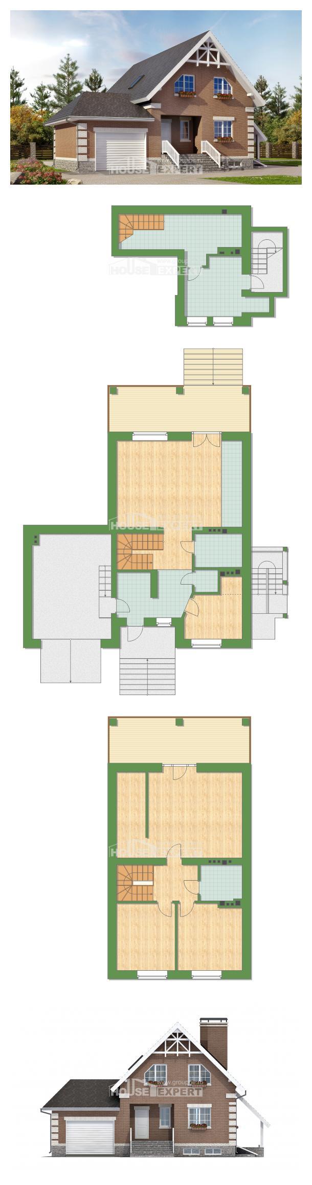 Projekt domu 200-009-L   House Expert