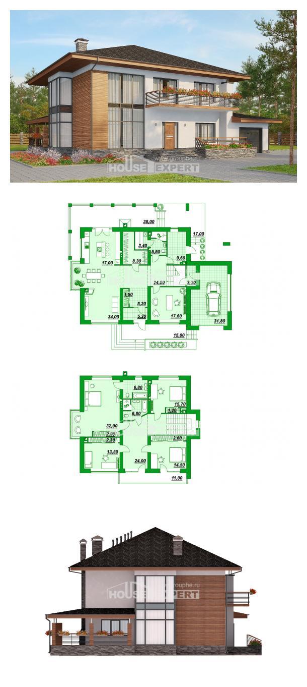 Projekt domu 305-001-R | House Expert