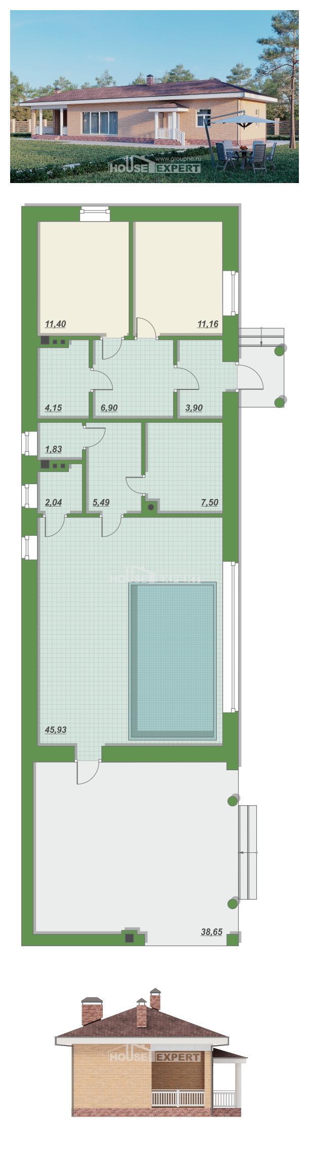 Проект на къща 110-006-L | House Expert