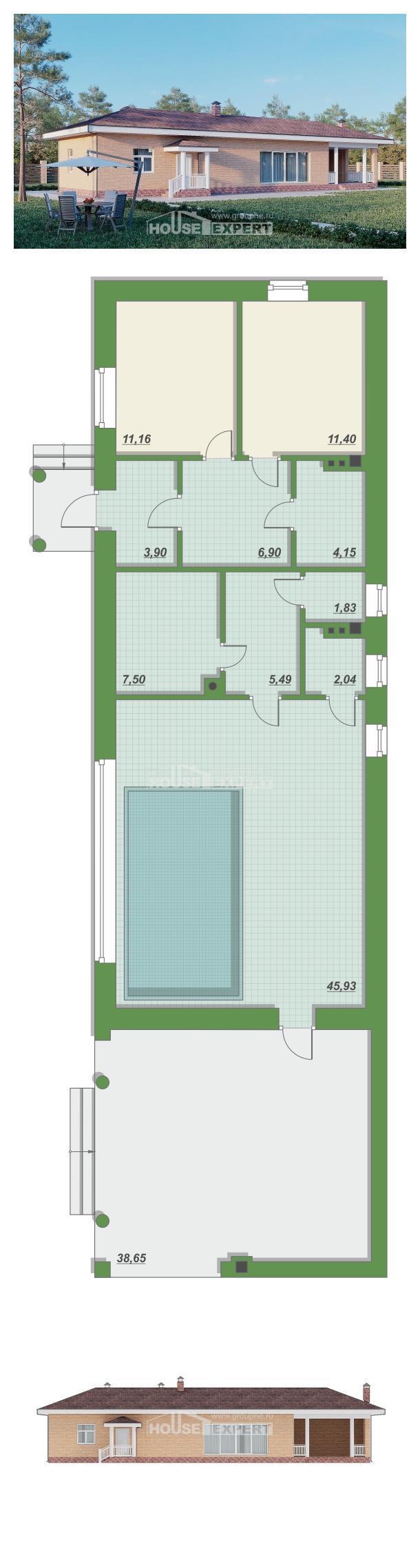Проект на къща 110-006-R | House Expert