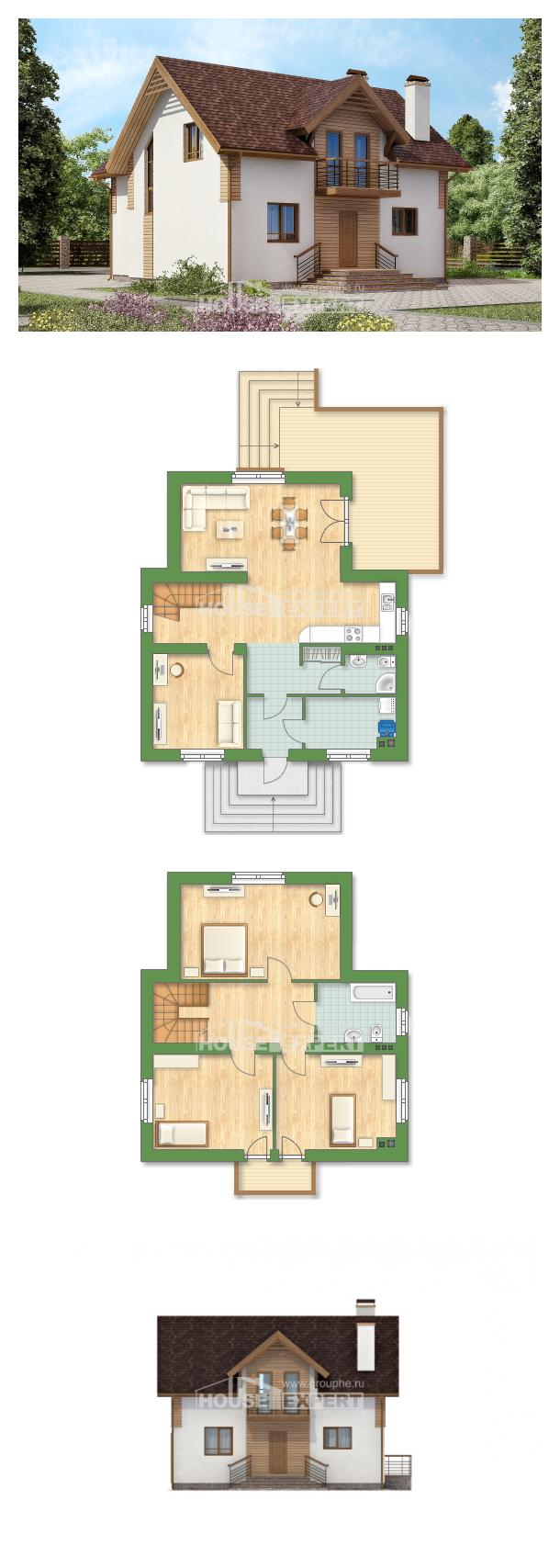Projekt domu 150-009-R    House Expert