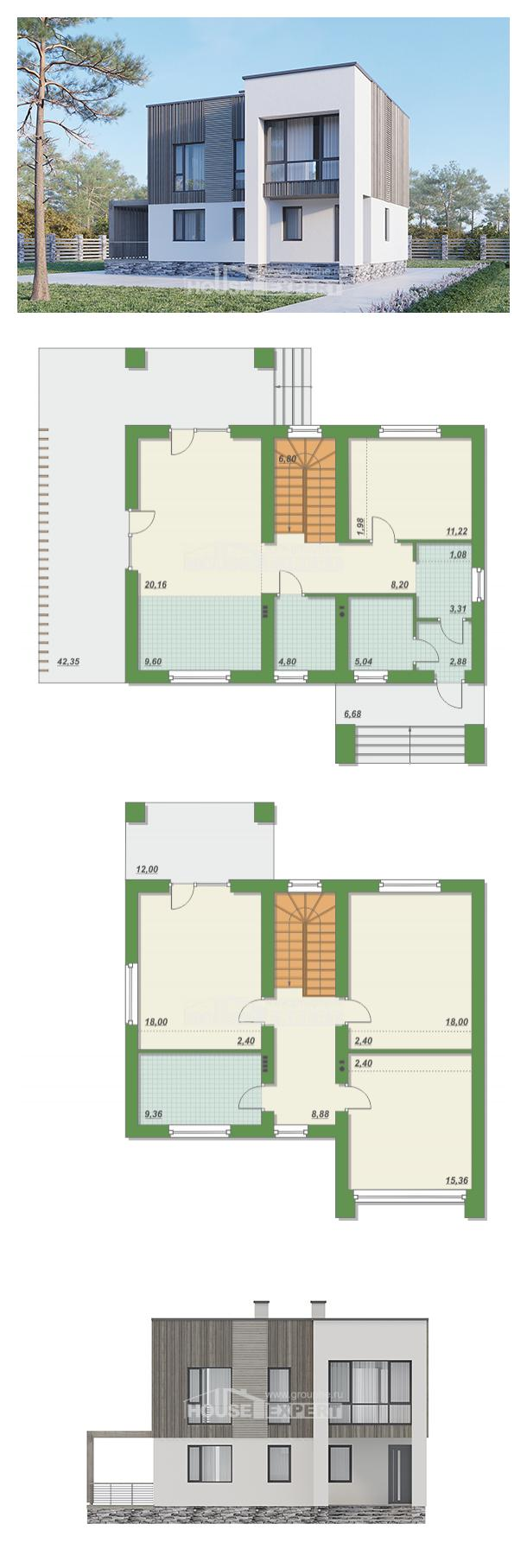 Проект дома 150-017-П   House Expert