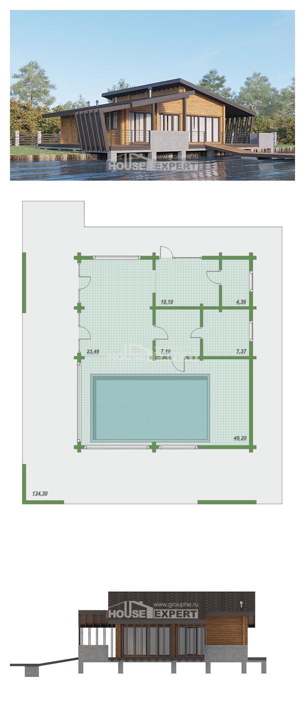 Проект на къща 100-007-R   House Expert