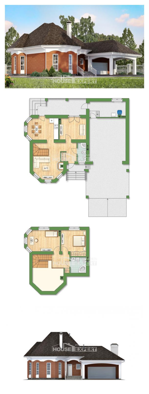 Proyecto de casa 180-007-R | House Expert
