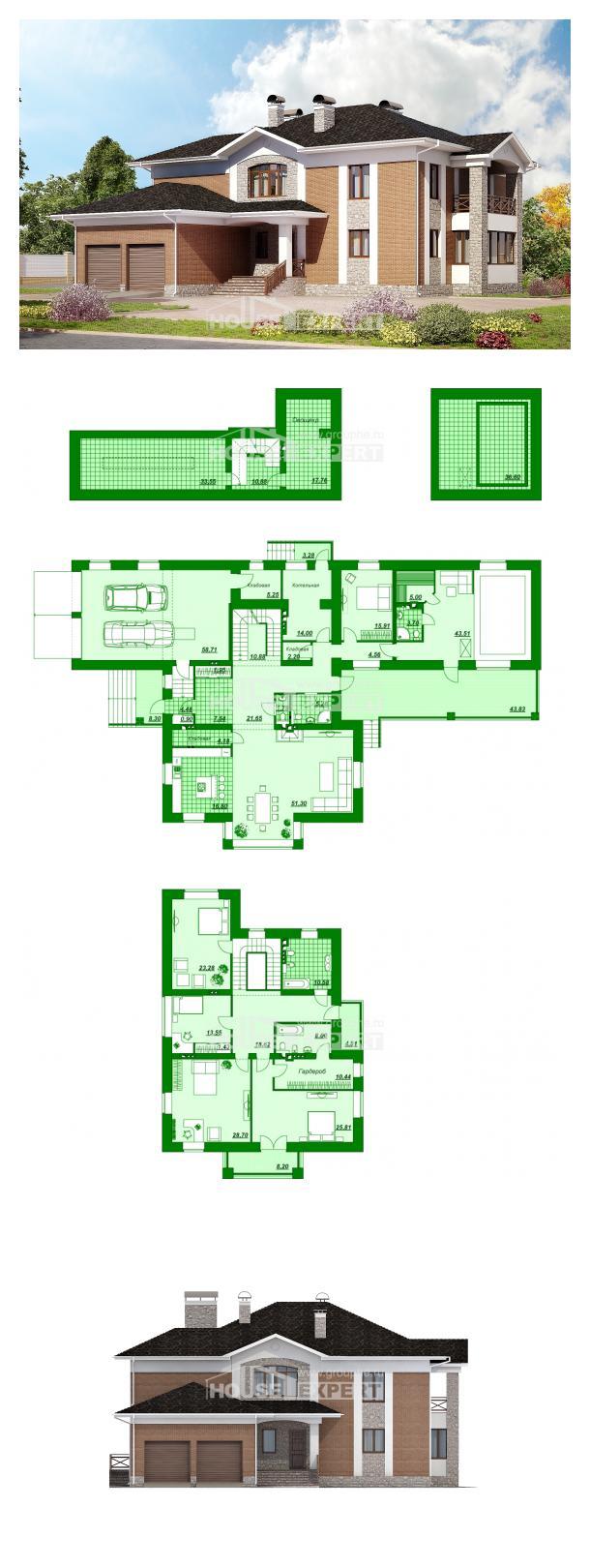 Projekt domu 520-002-L   House Expert