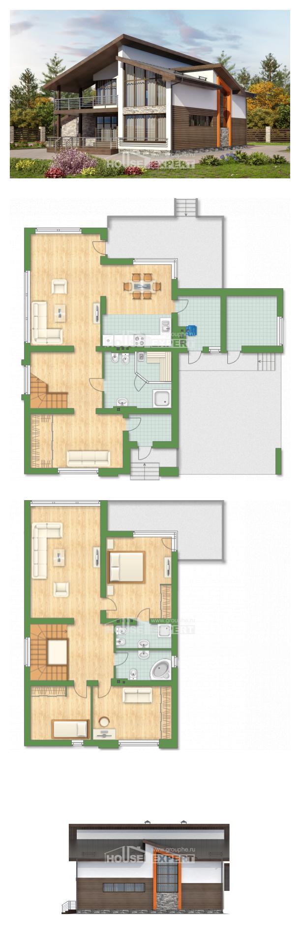 Проект на къща 200-010-R | House Expert