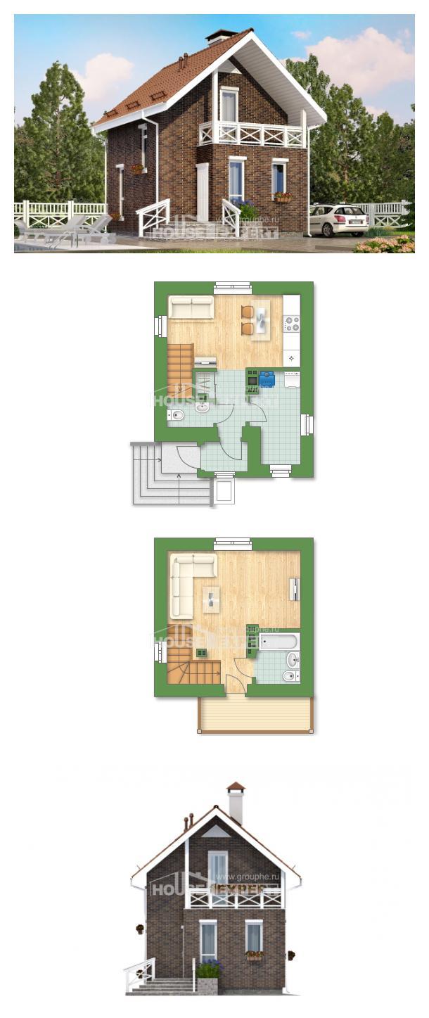 Проект на къща 045-001-L | House Expert