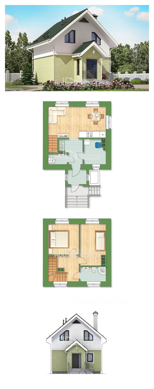 Проект на къща 070-001-R | House Expert