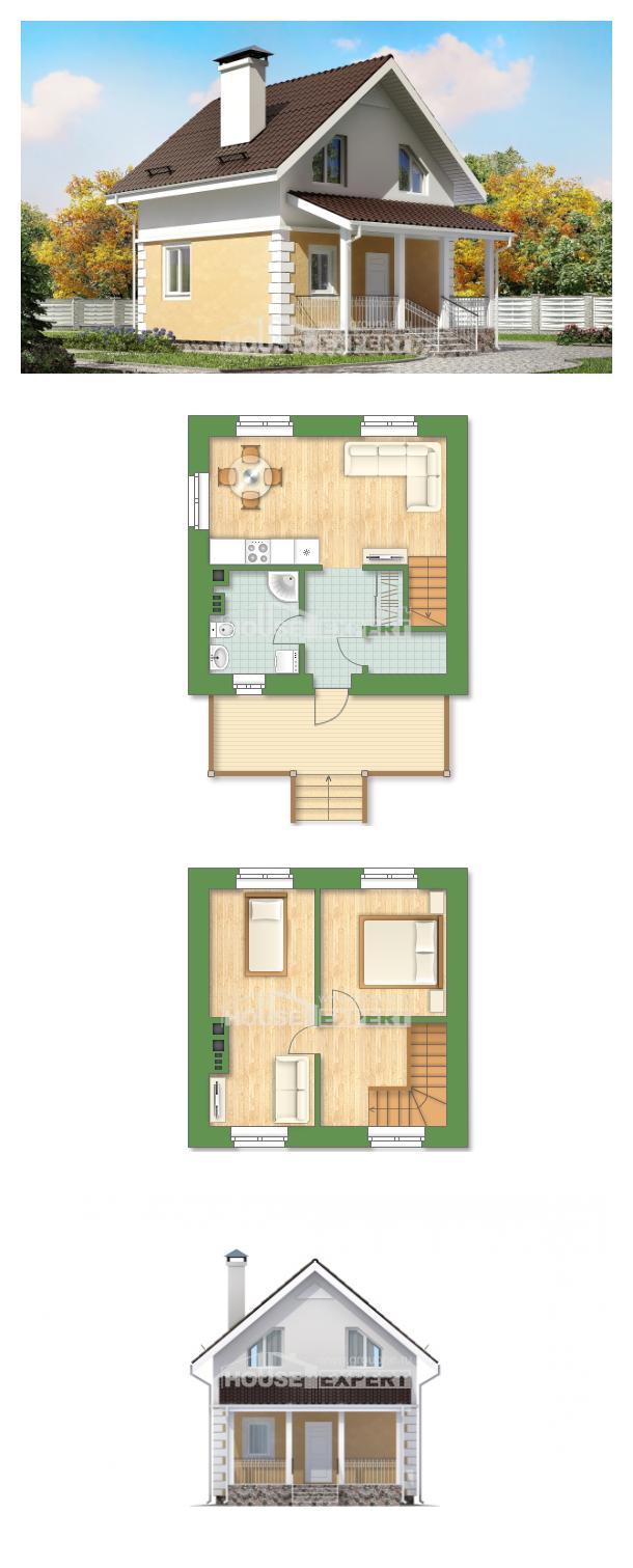 Проект на къща 070-002-R | House Expert