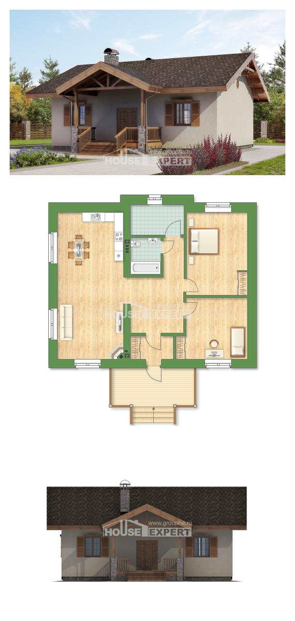 Проект на къща 090-002-L   House Expert