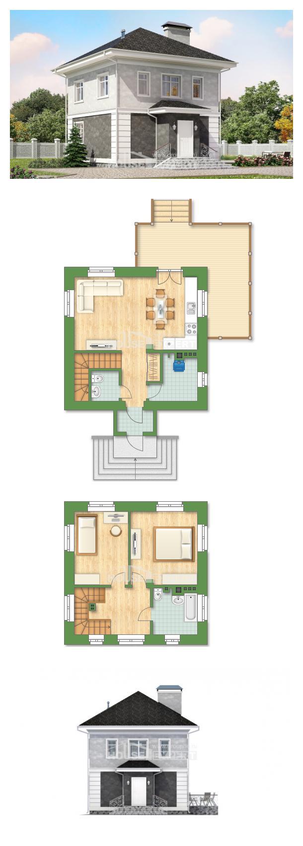 Ev villa projesi 090-003-R | House Expert