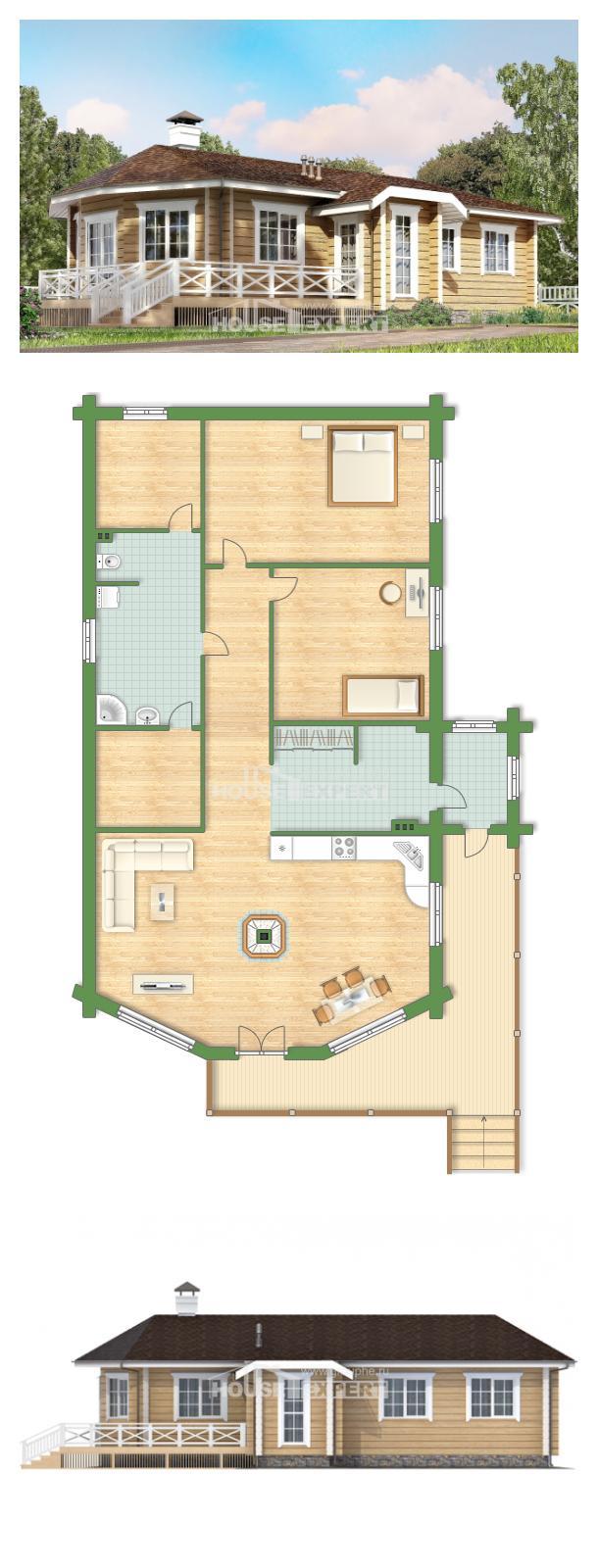 Проект на къща 095-001-L   House Expert
