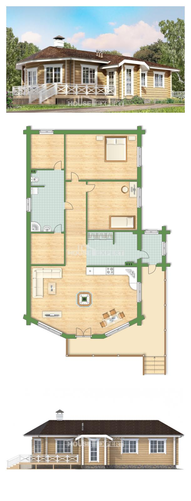 Ev villa projesi 095-001-L   House Expert