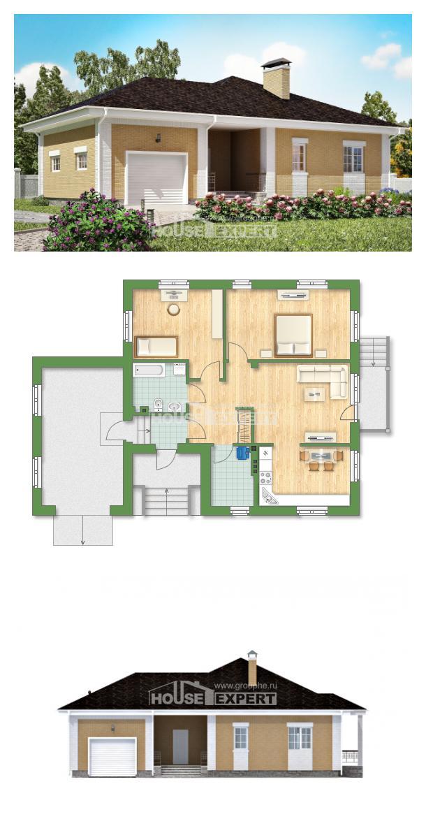 Ev villa projesi 130-002-L | House Expert