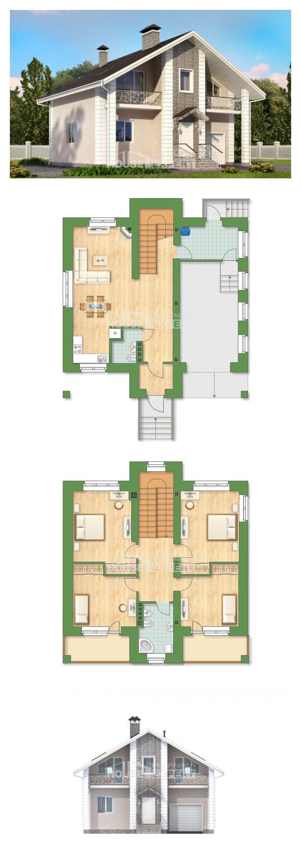 Проект на къща 150-002-R   House Expert