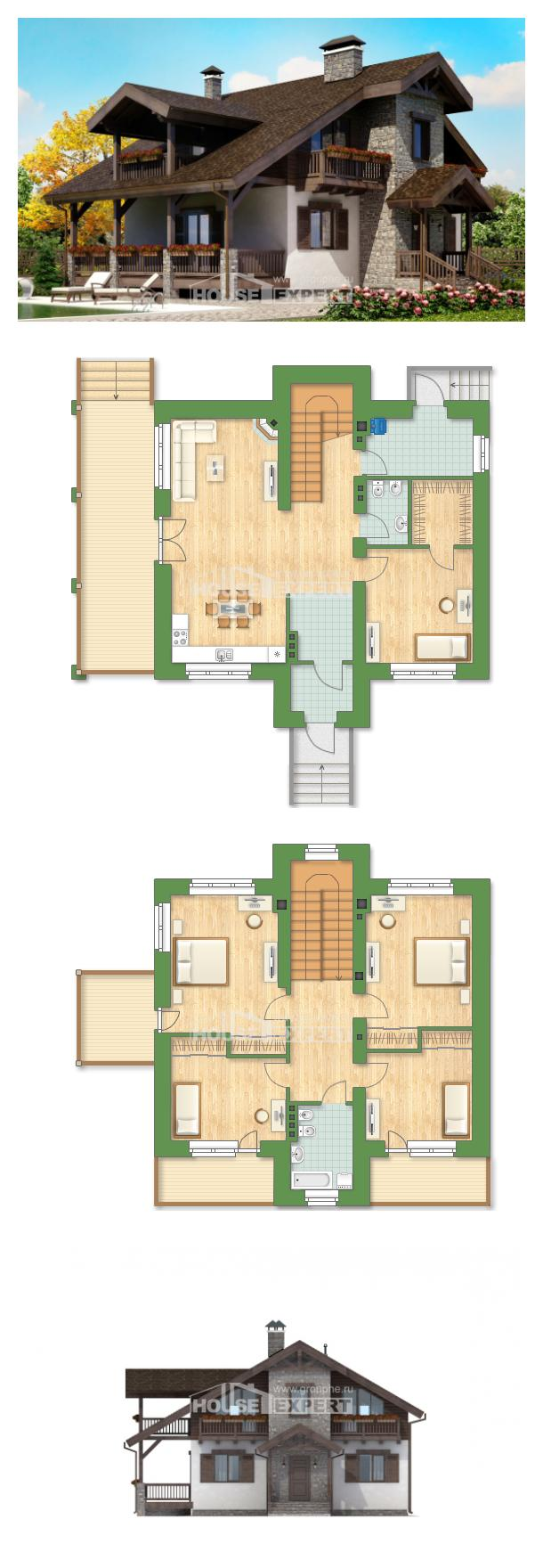 Ev villa projesi 150-004-L | House Expert