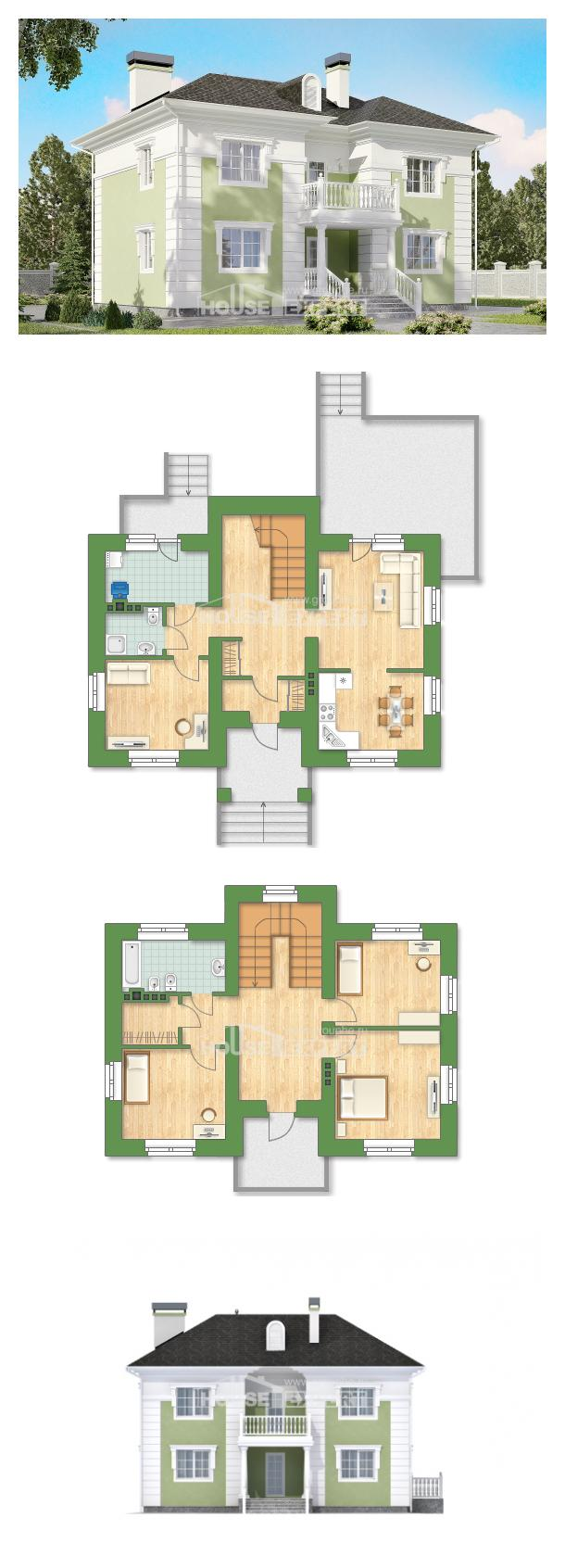 Ev villa projesi 155-005-R | House Expert