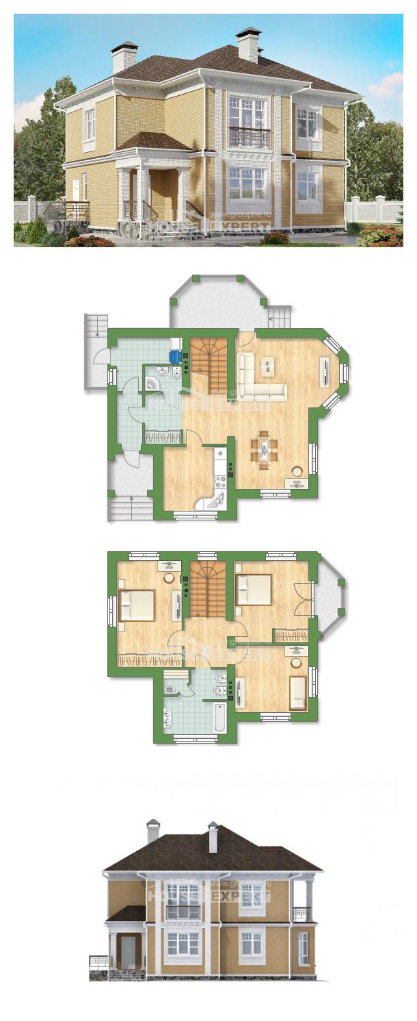 Ev villa projesi 160-001-L | House Expert