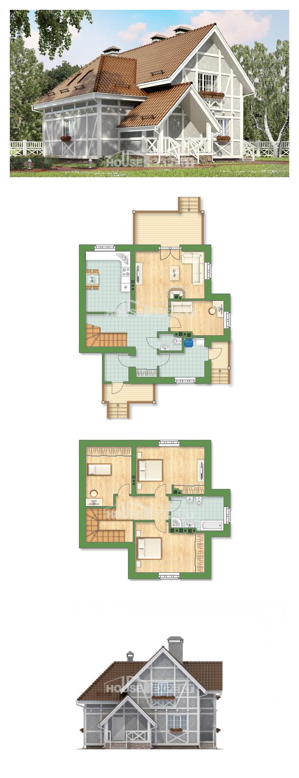 Proyecto de casa 160-003-L | House Expert
