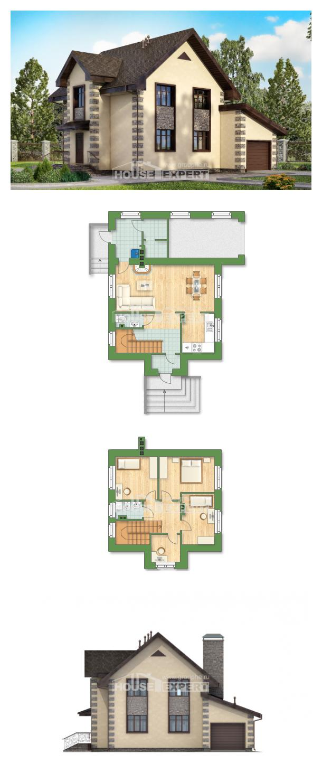 Проект на къща 160-004-R | House Expert
