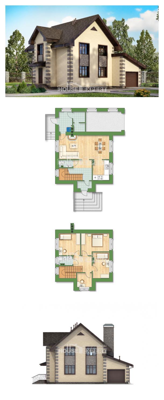 Ev villa projesi 160-004-R | House Expert