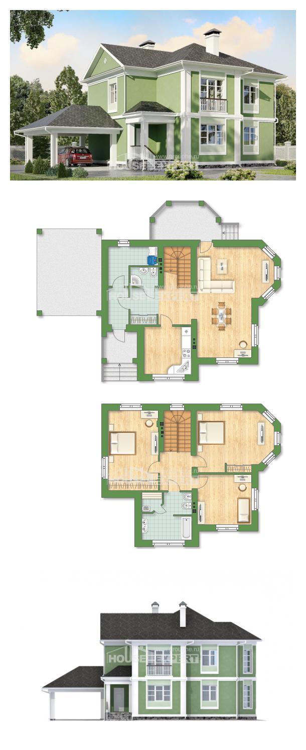 خطة البيت 170-001-L | House Expert