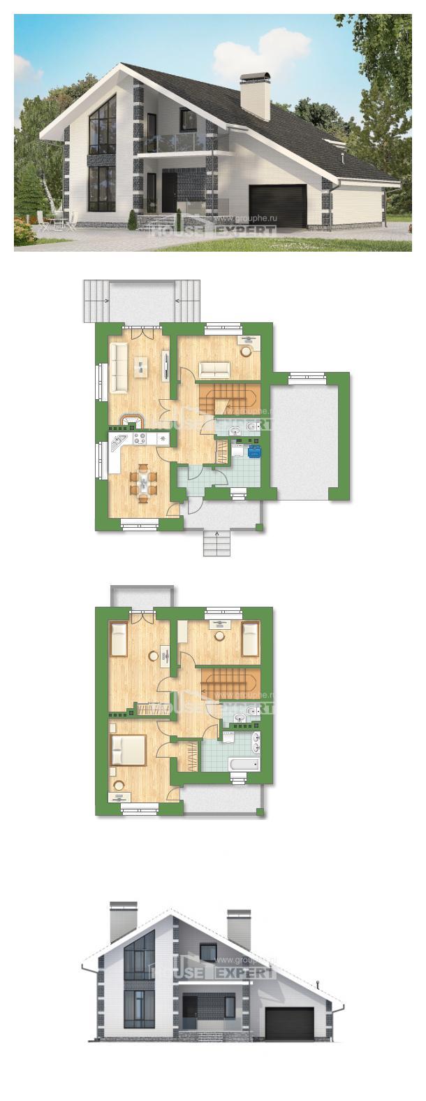 Проект на къща 180-001-R | House Expert
