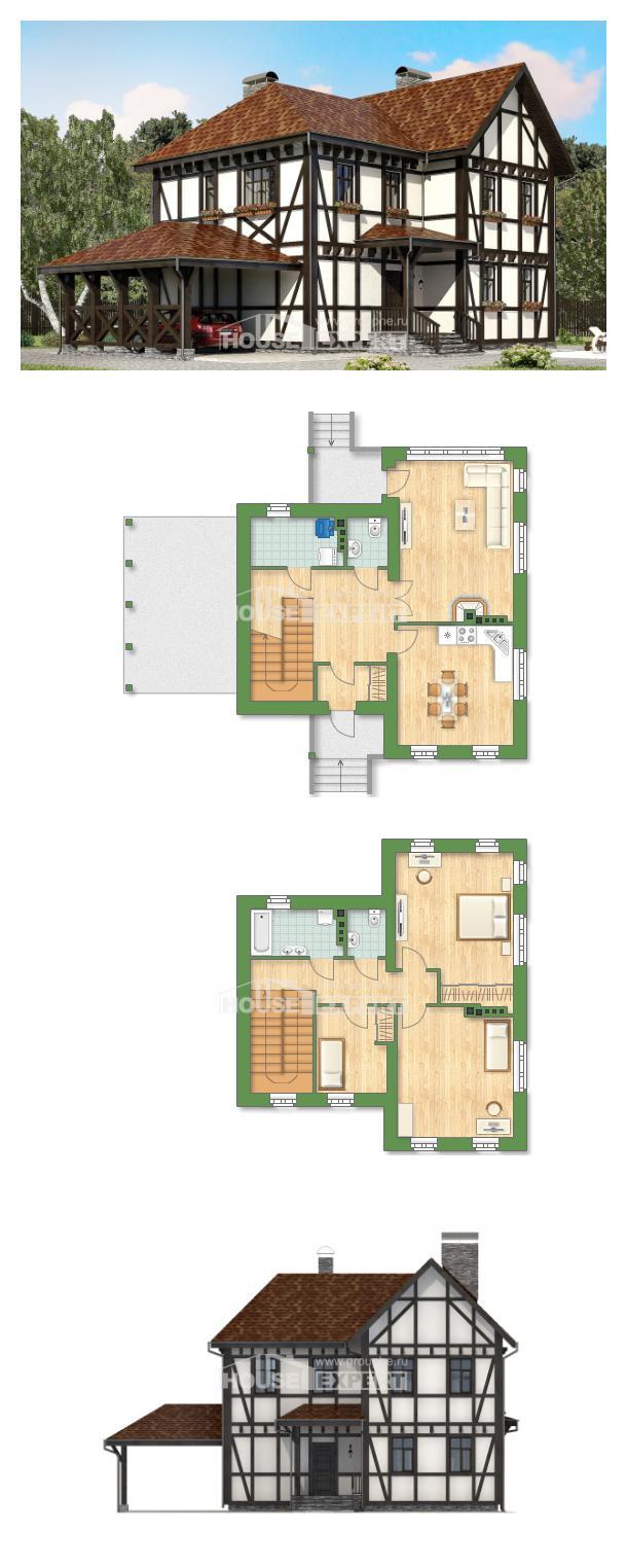 Ev villa projesi 180-004-L | House Expert