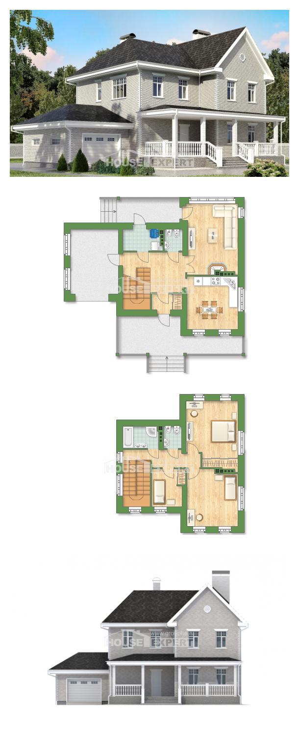 Проект на къща 190-001-L   House Expert