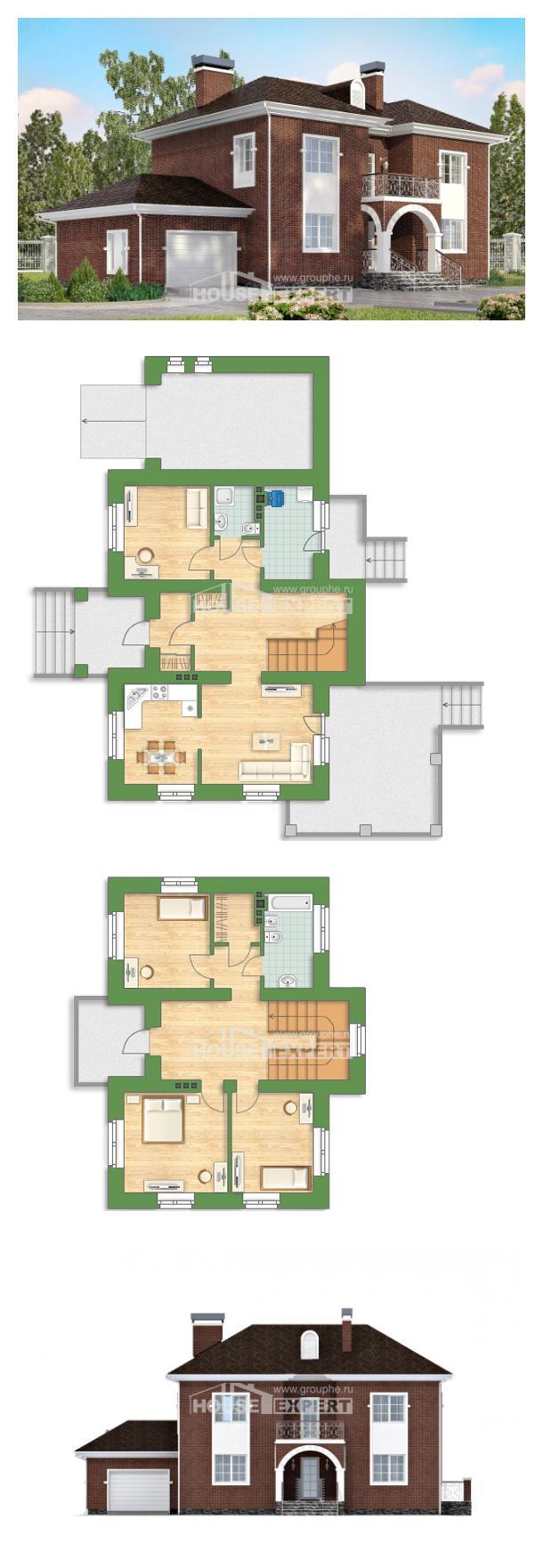 Проект на къща 180-006-L | House Expert
