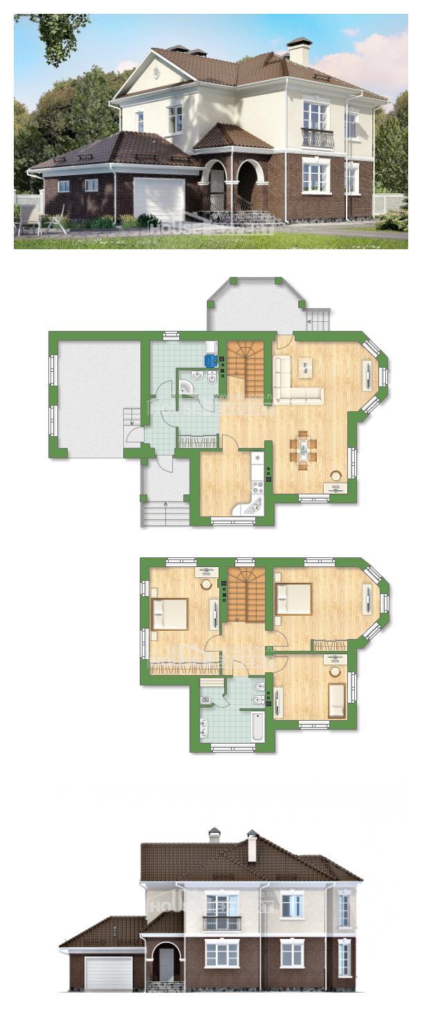 Ev villa projesi 190-002-L | House Expert