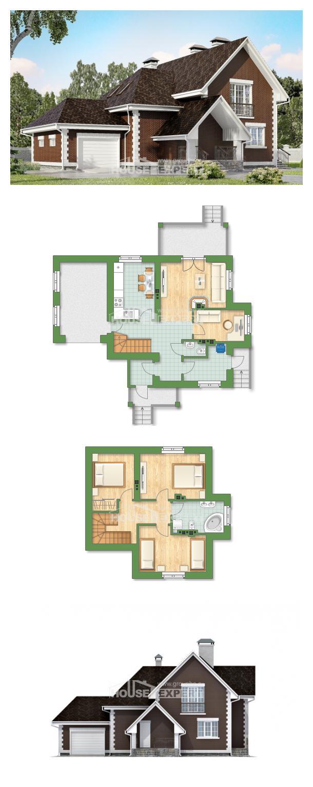 Проект на къща 190-003-L | House Expert