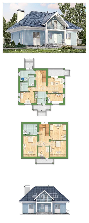 Проект на къща 200-002-R | House Expert