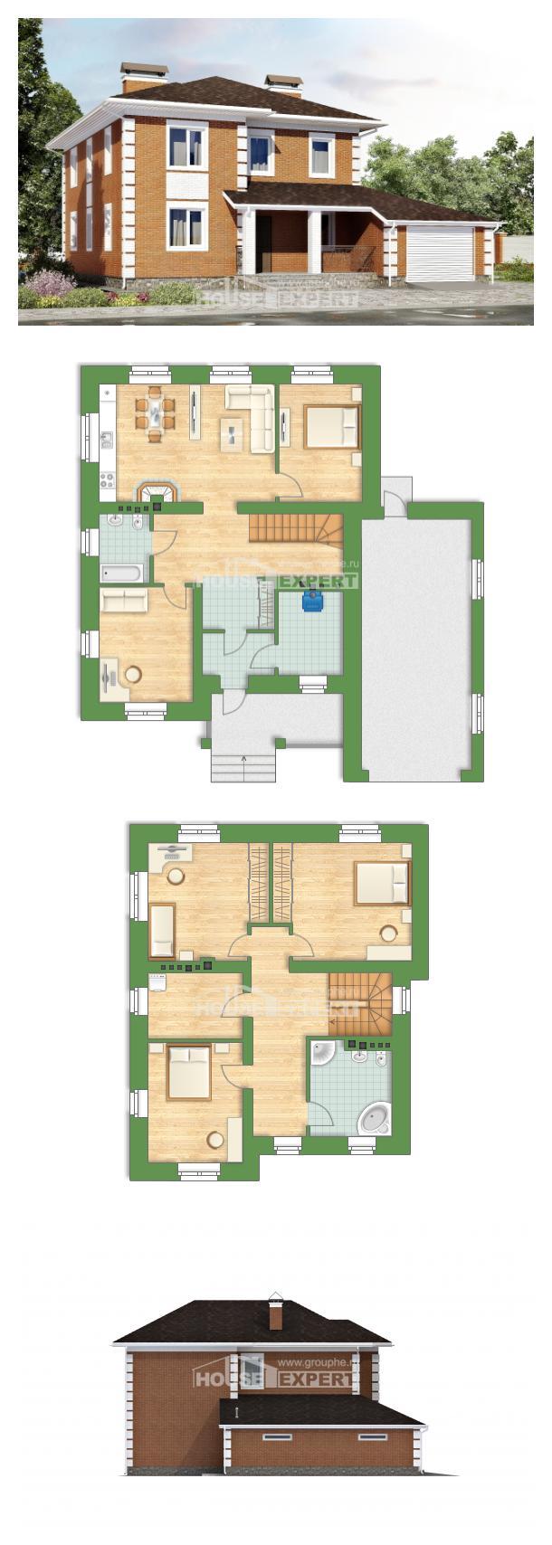 Проект на къща 220-004-L | House Expert