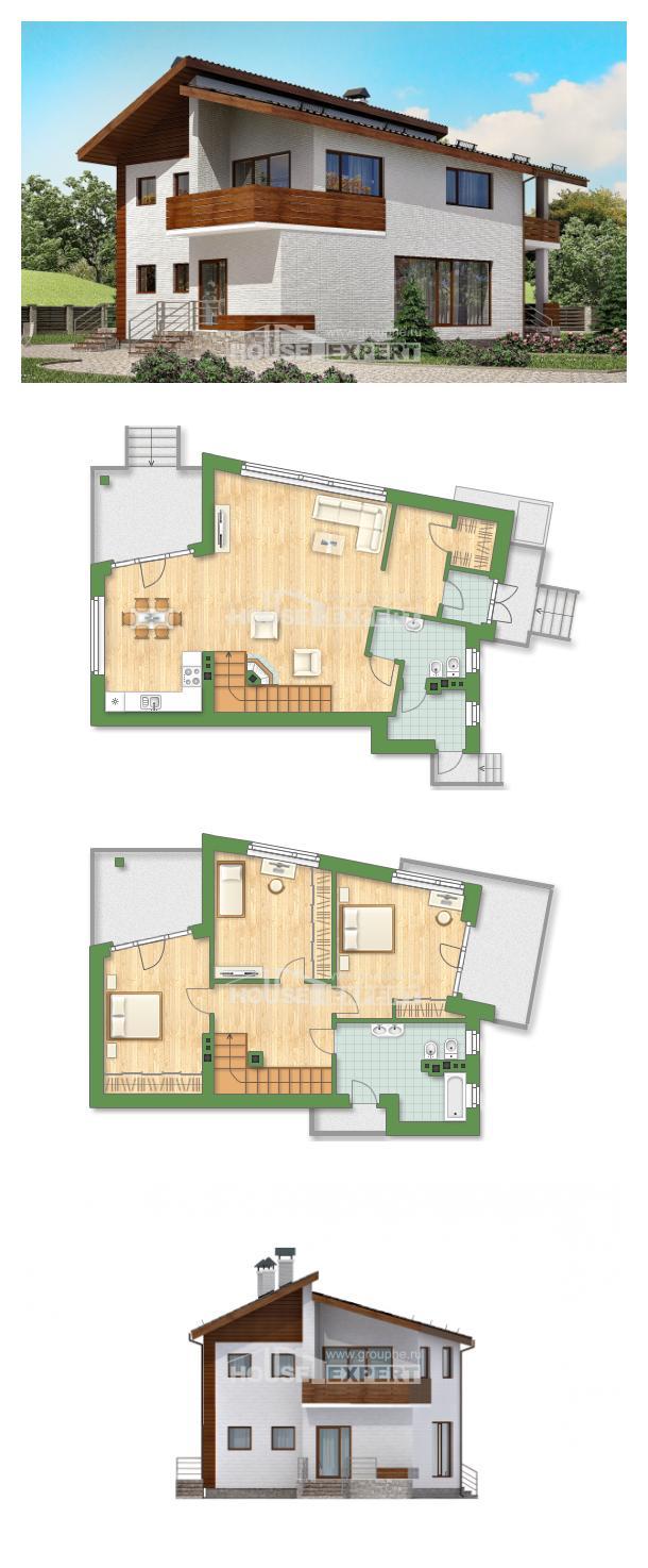 Проект на къща 180-009-R   House Expert