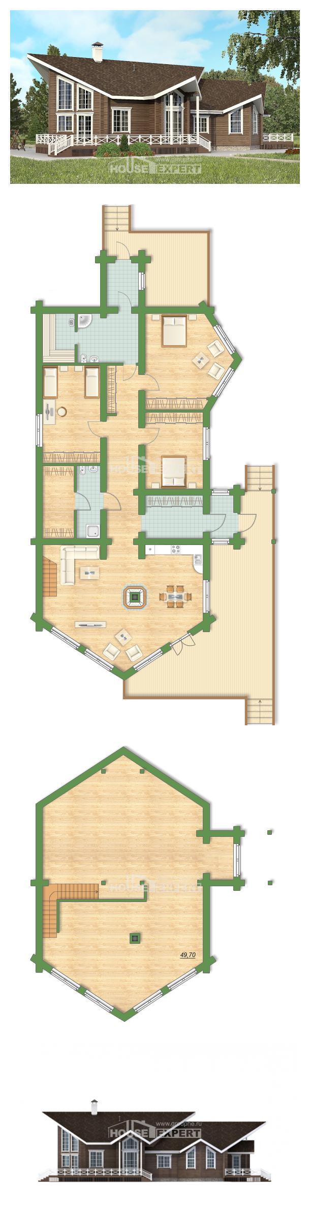 Projekt domu 210-002-L | House Expert