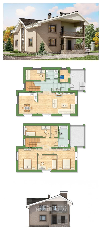 Proyecto de casa 210-003-R | House Expert